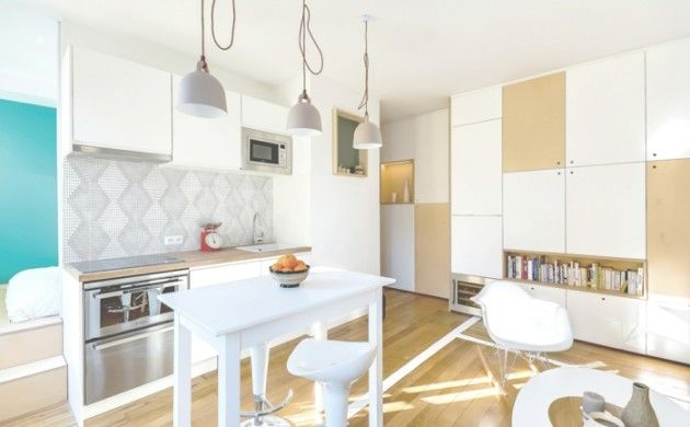 optimale kucheneinrichtung raum einrichtung, kleine wohnung einrichten - 13 stilvolle und clevere ideen und, Design ideen