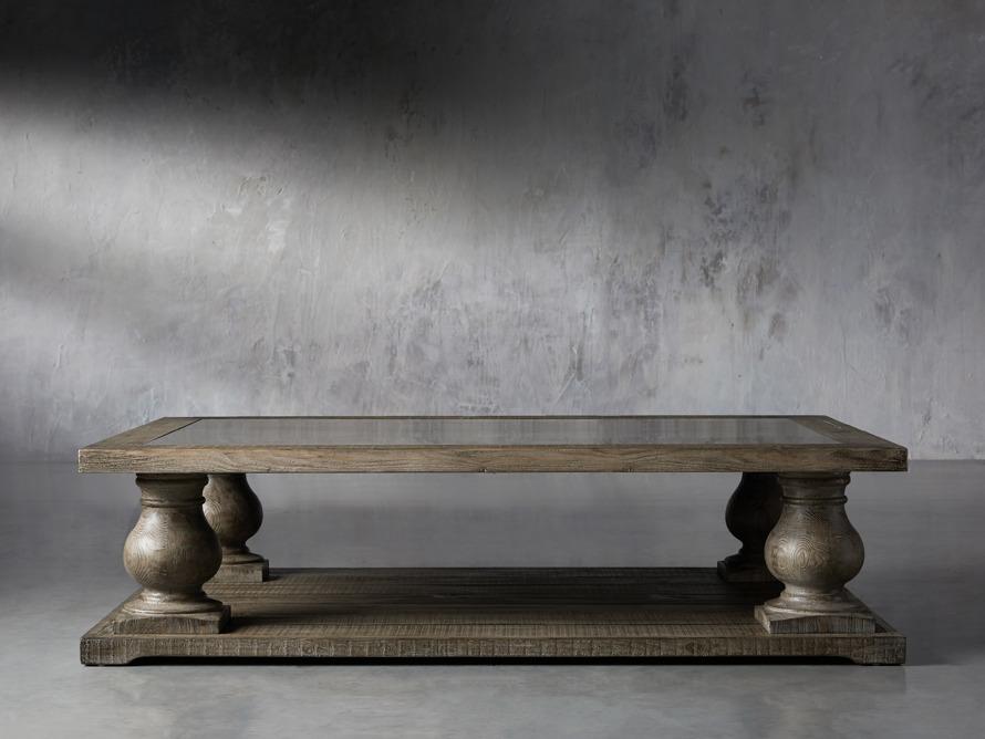 Hudson Coffee Table With Bluestone Arhaus Furniture In 2020 Coffee Table Arhaus Furniture Furniture
