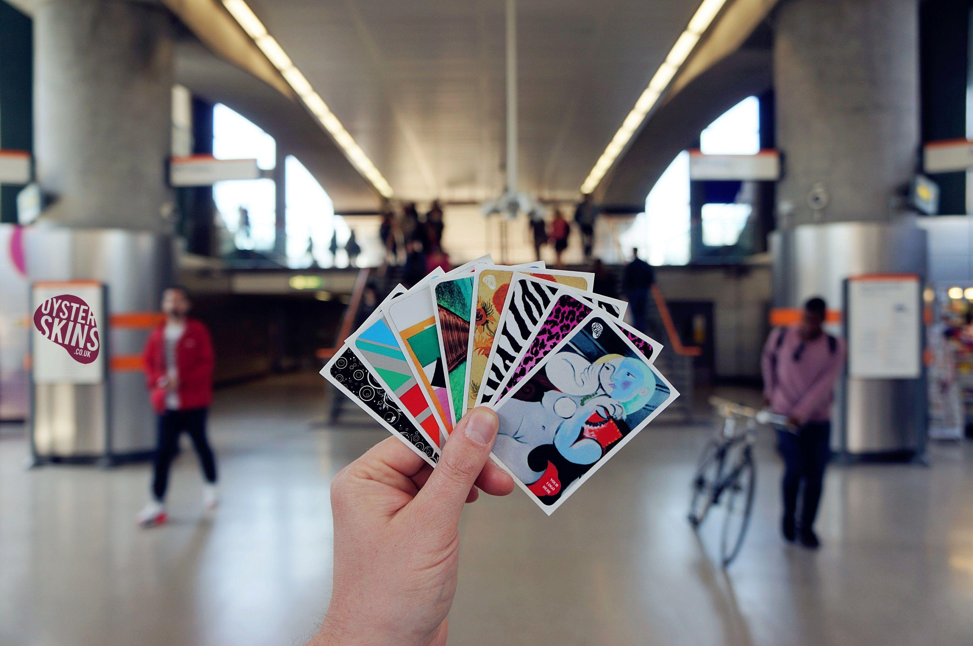 Shoreditch station swipe card