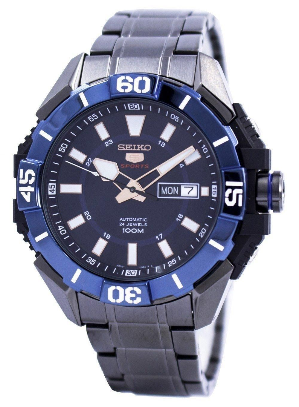 Seiko 5 Sports Automatic 24 Jewels SRP797 SRP797K1 SRP797K