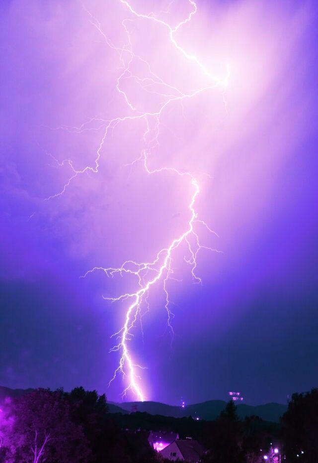 Purple Aesthetic Photo