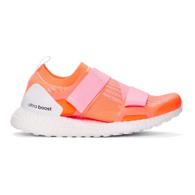 Miu Miu Pink & Orange Ultraboost X Sneakers