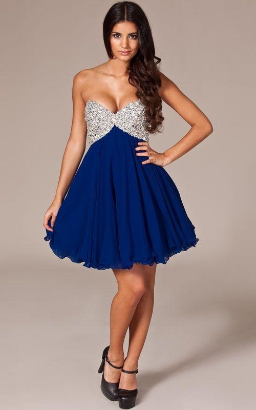minihems.com royal blue short dress (29) #shortdresses | Dresses ...