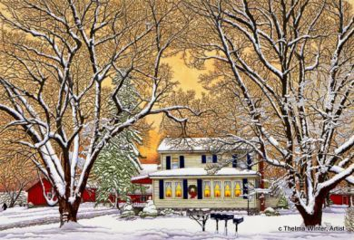 christmas in the country hamburg ny thelma winter i believe she passed away but her art is still available i would see her at allentown in buffalo - Christmas In The Country Hamburg Ny