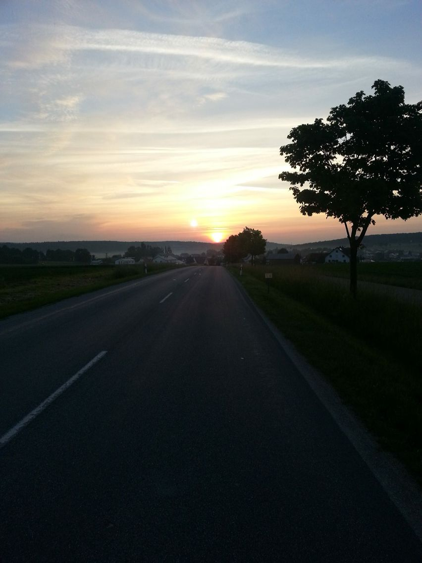 Sonnenaufgang in Kasing