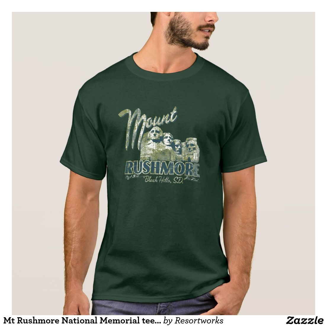 Mt Rushmore National Memorial tee PS7071 | Tees and Ps