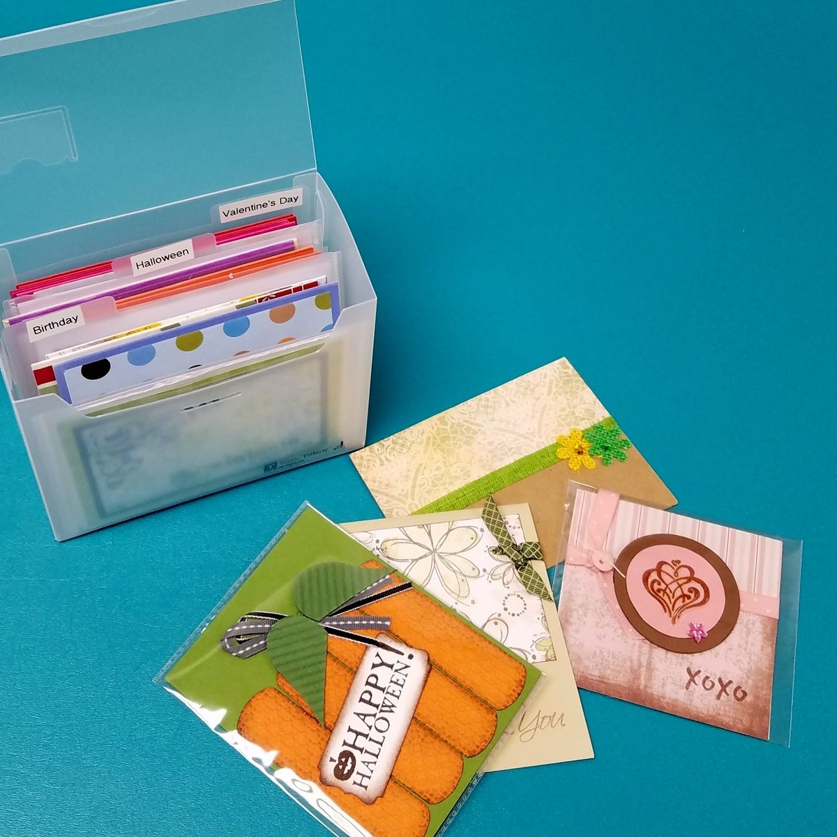 Conquer Your Cards Organize Handmade Cards And Card Making