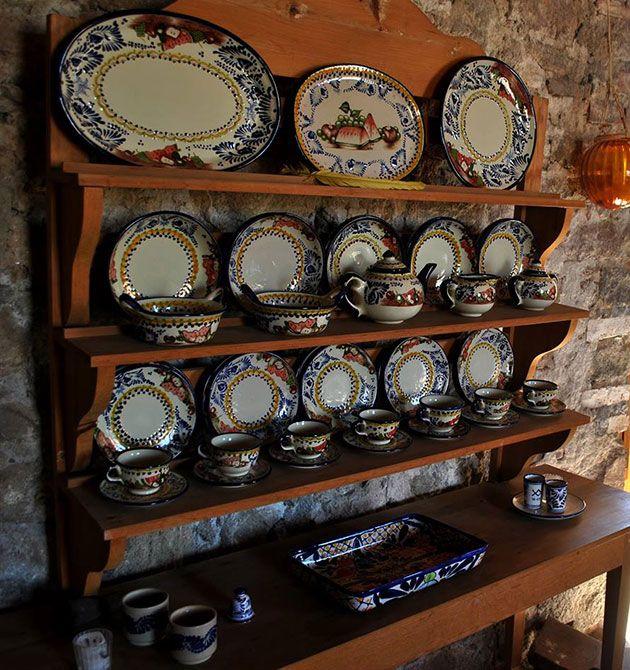 Talavera huamantla tlaxcala cocina cocinas y rincones for Fabricantes de ceramica en mexico