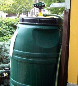 Earth Day is every day - Buy a rain barrel