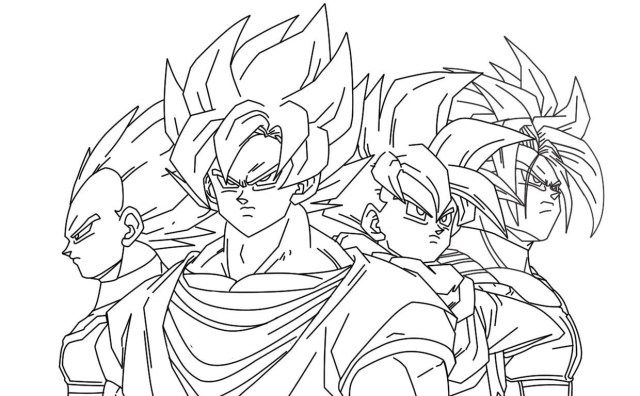 30 Excellent Picture Of Goku Coloring Pages Com Imagens Goku