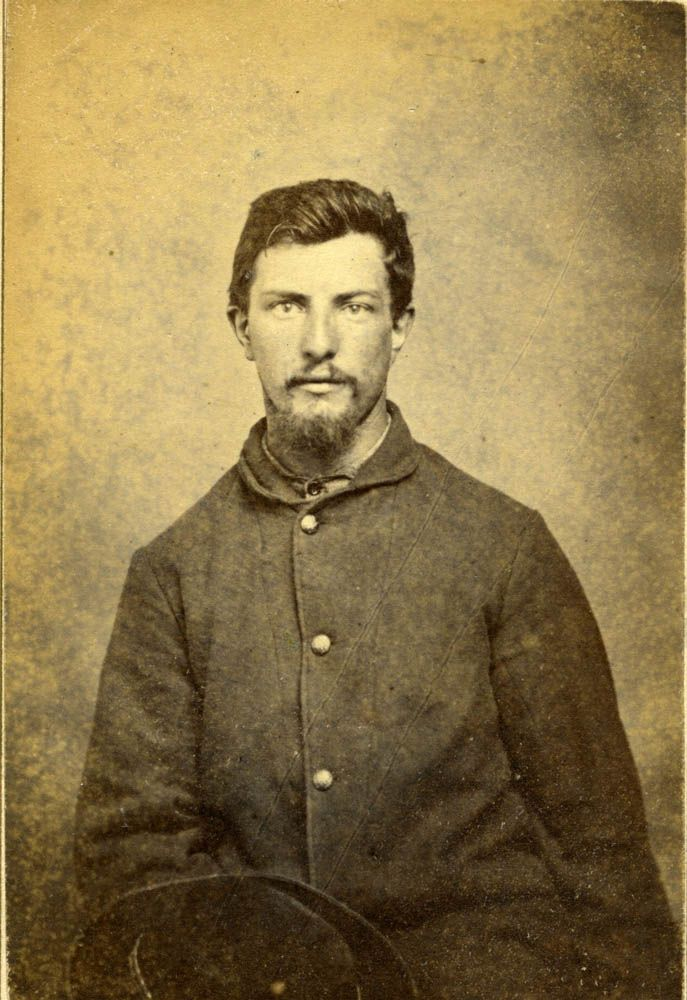 Conrad Grassmeck Enlisted As A Private In Company D 15th