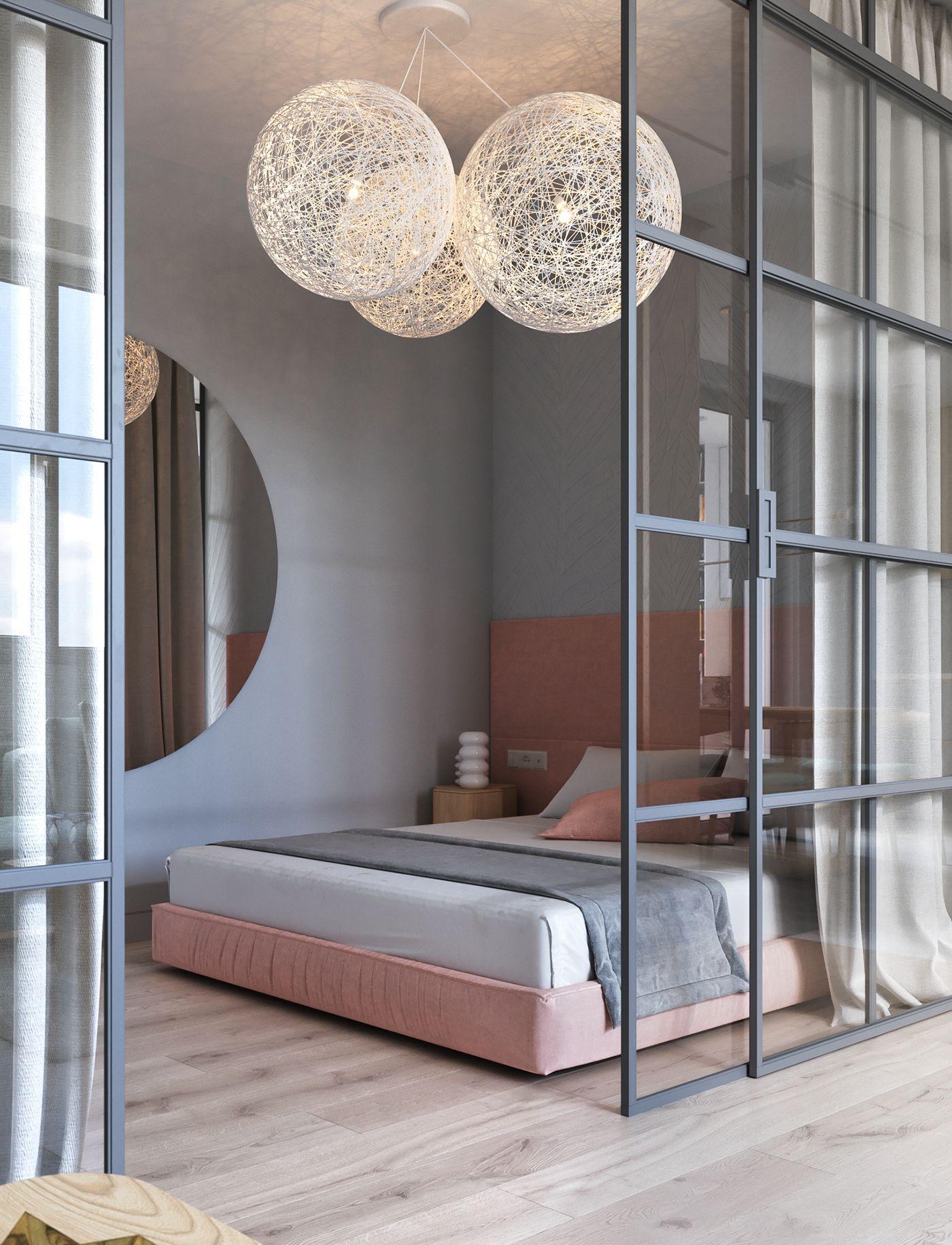 Un appartement contemporain et pastel kiev planete deco a homes world kitchen in 2018 - Appartement contemporain kiev ...