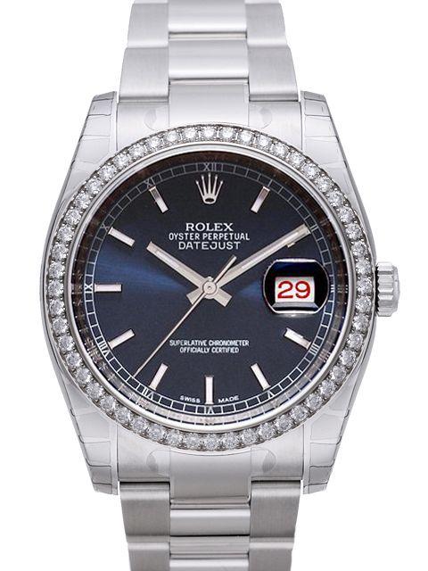Rolex Datejust 36 Blau