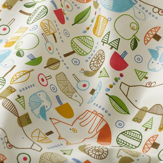 Nature Trail crib sheet Land of Nod