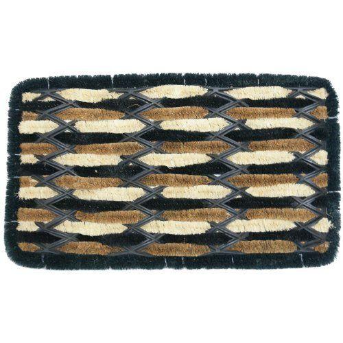Gypsy Decorative Coco Coir Doormat 14 X 24 Outdoor Boot Ser