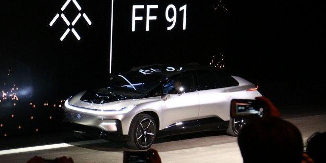 Faraday Future Unveils Super Fast Electric Car