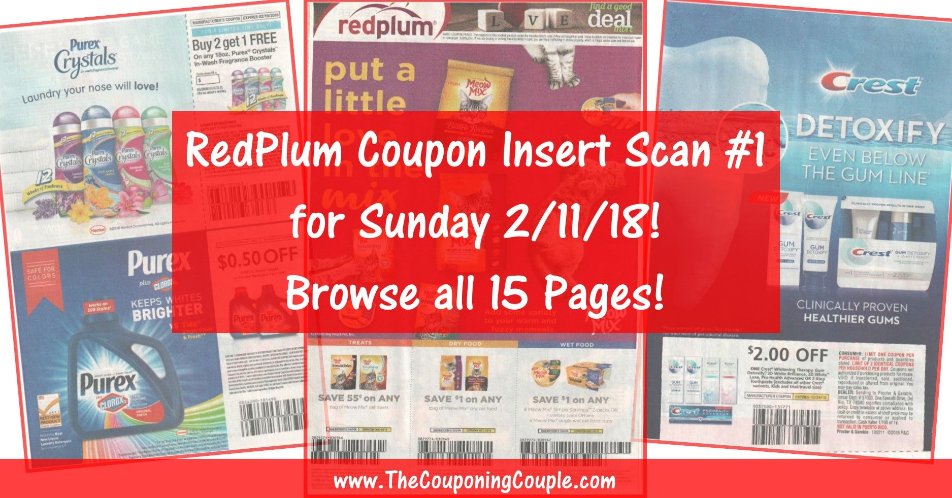 Want To See The Exact Coupons We Are Expecting In Sunday S 2 11 Redplum 1 Coupon Insert Check Out All 15 Pag Coupon Inserts Smartsource Smartsource Coupons