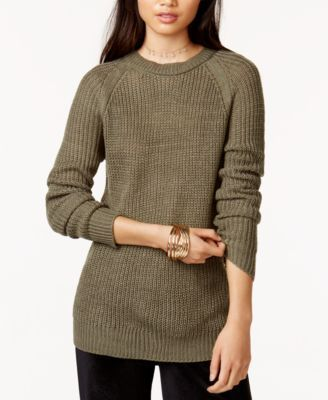 332aca4f3eedd4 Jack by Bb Dakota Percival Crew-Neck Cutout Sweater - Tan Beige XS ...