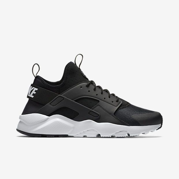 09af45916af7 Nike Air Huarache Run Ultra Womens Running Shoes 8 Black White 819151 001   Nike  RunningCrossTraining