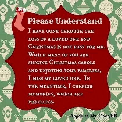 So many people are grieving at christmastime and that 39 s for What to get husband who has everything for christmas