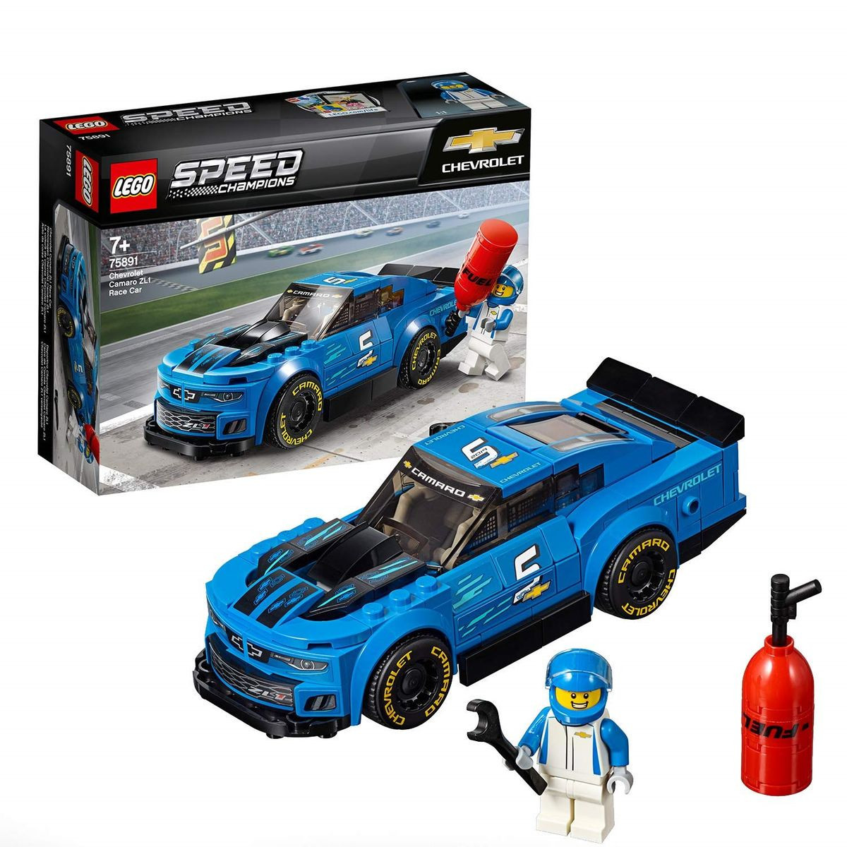 on feet images of wholesale dealer sneakers Lego 75891 Speed Champions - La voiture de course Chevrolet ...