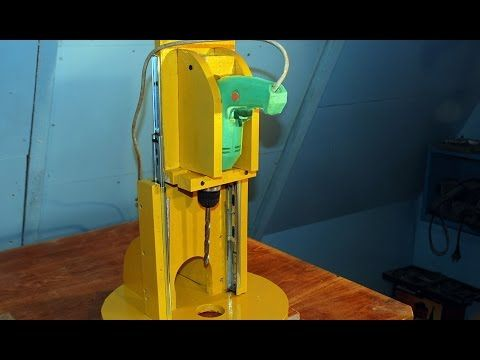 Making a mini drill press router table spindle sander all in one making a mini drill press router table spindle sander all in one greentooth Gallery