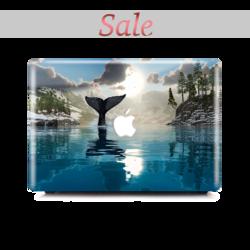 Macbook Case - Whale Tail - Colourbanana