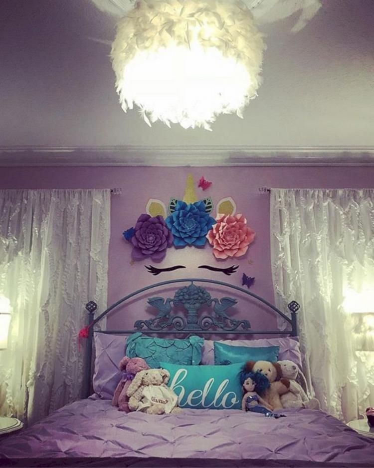 25 Stunning Transitional Bedroom Design Ideas: 25+ Beautiful Unicorn Room Decoration Ideas To Have An