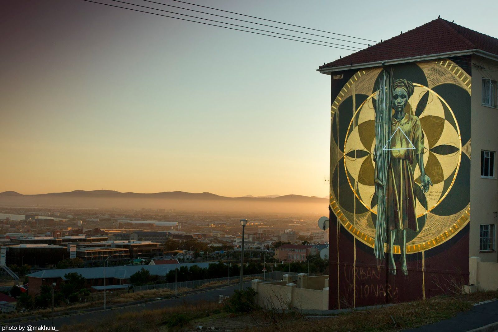 Faith47 New Mural In Cape Town anotherlight Street