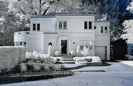 Art Deco House   Hamilton, Canada Art Deco Is Not As Simple As Art Moderne