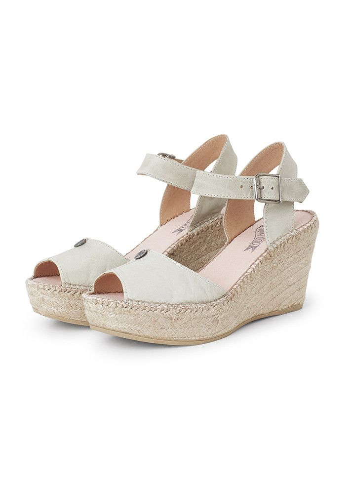 Odd Molly Sandfarvede Espadrillos 417M-365 Solemate High Heel Espadrillos - light tan – Acorns