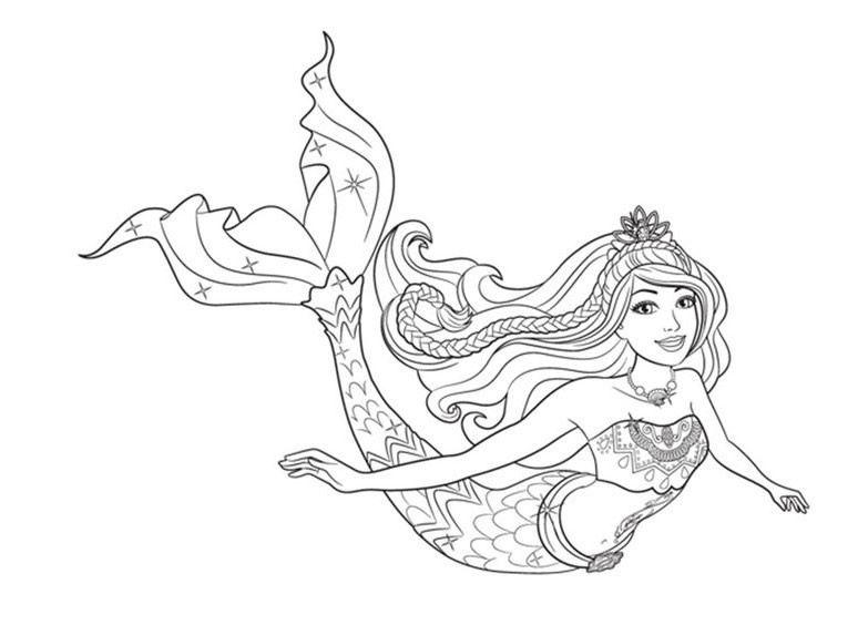 Coloriages gratuits à imprimer Barbie - copy coloring pages barbie mariposa
