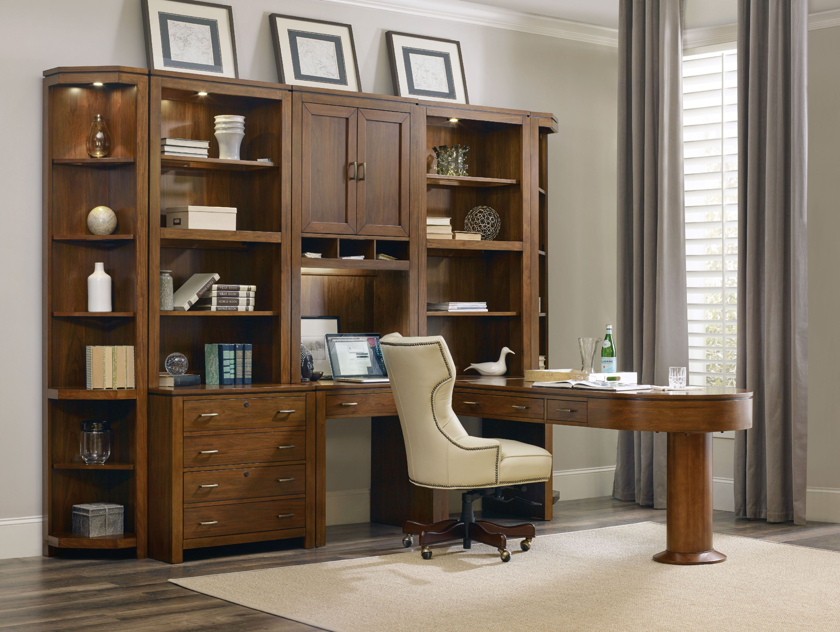 Hooker furniture home office viewpoint modular group