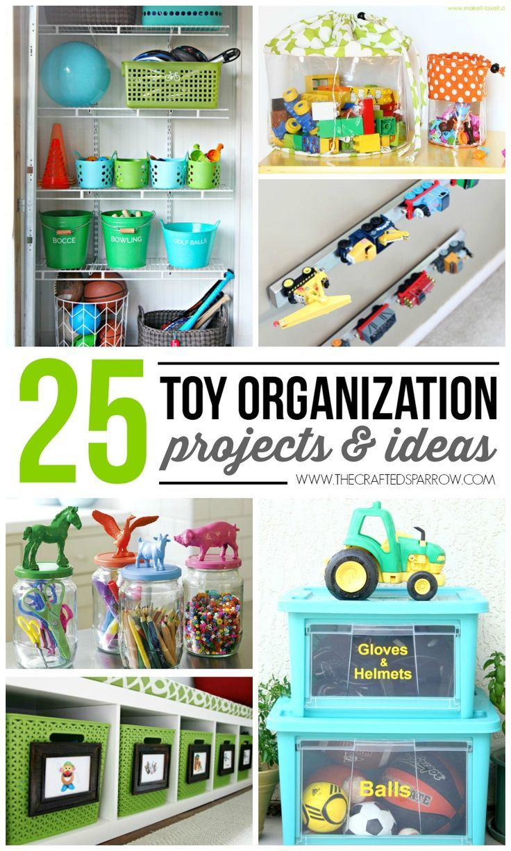 25 Toy Organization Projects Ideas Toy Organization Kids