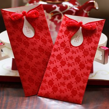 Red Envelope Marry Distance Bags Wedding Supplies China Wind Envelopes Gift Ideas Wallet Large