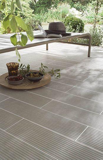 Sol terrasse  20 beaux carrelages pour une terrasse design Patios