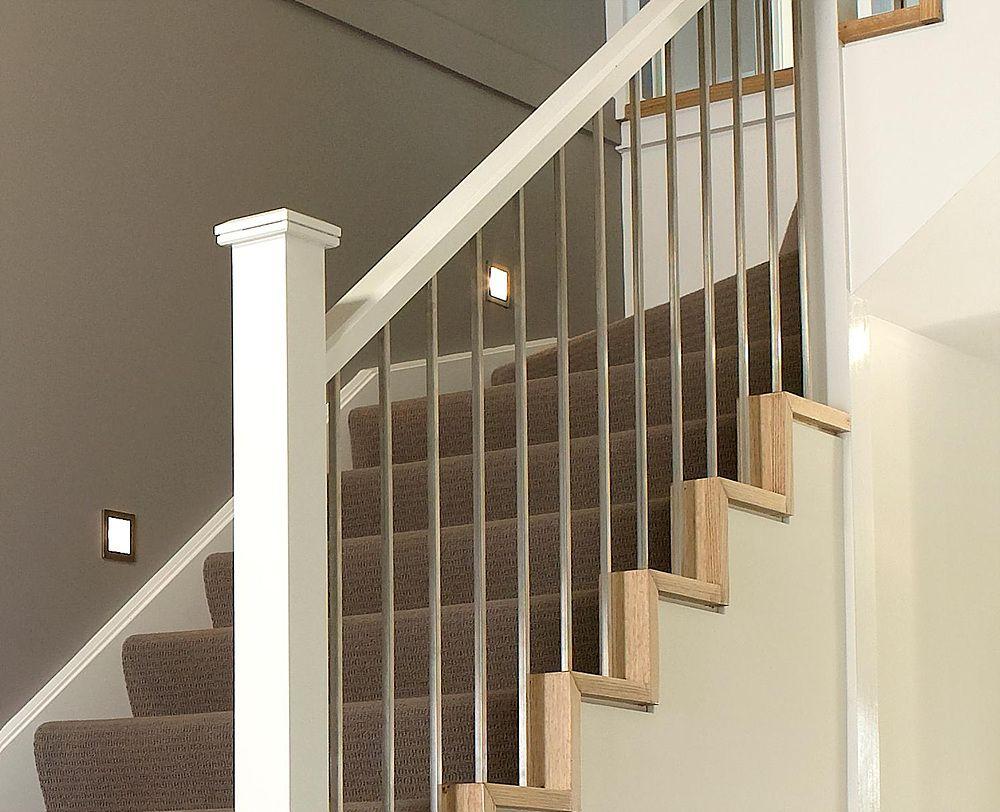 Best Modern Craftsman Stair Caps Modern Staircase Modern 640 x 480