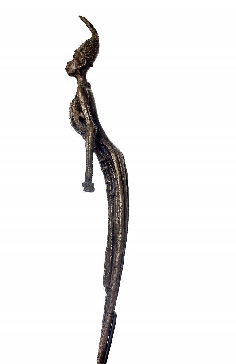 ben enwonwu anyanwu a bronze sculpture estimated to sell