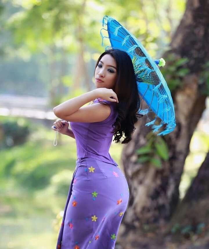 Aye Wutt Yee Thaung Myanmar Girls Village Girl Model