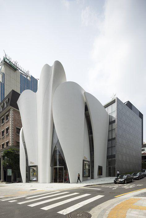 Christian Dior Flagship w Seulu, w Seulu, w 2015 roku - Atelier Christian de Portzamparc