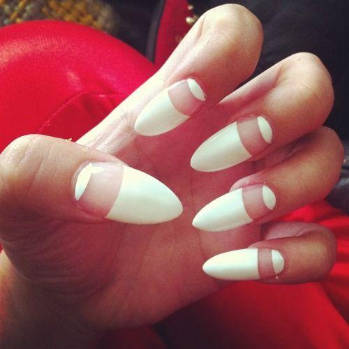 Trendy White Nail Designs 2013