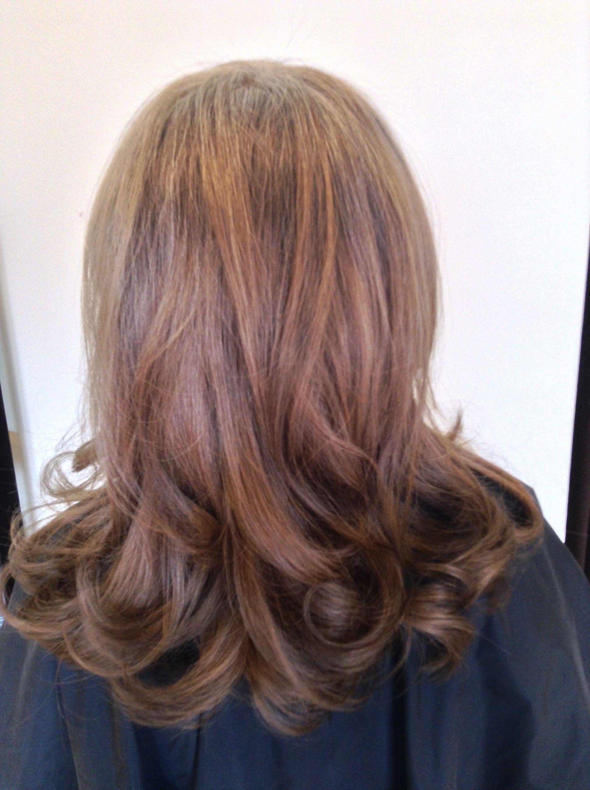 Ashley blowdry long hair styles blow dry