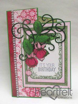 Heartfelt Creations | Birthday Fuchsias