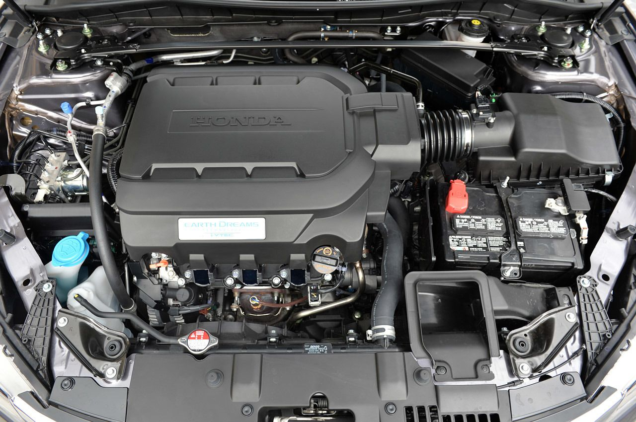 2015 Honda Accord Engine