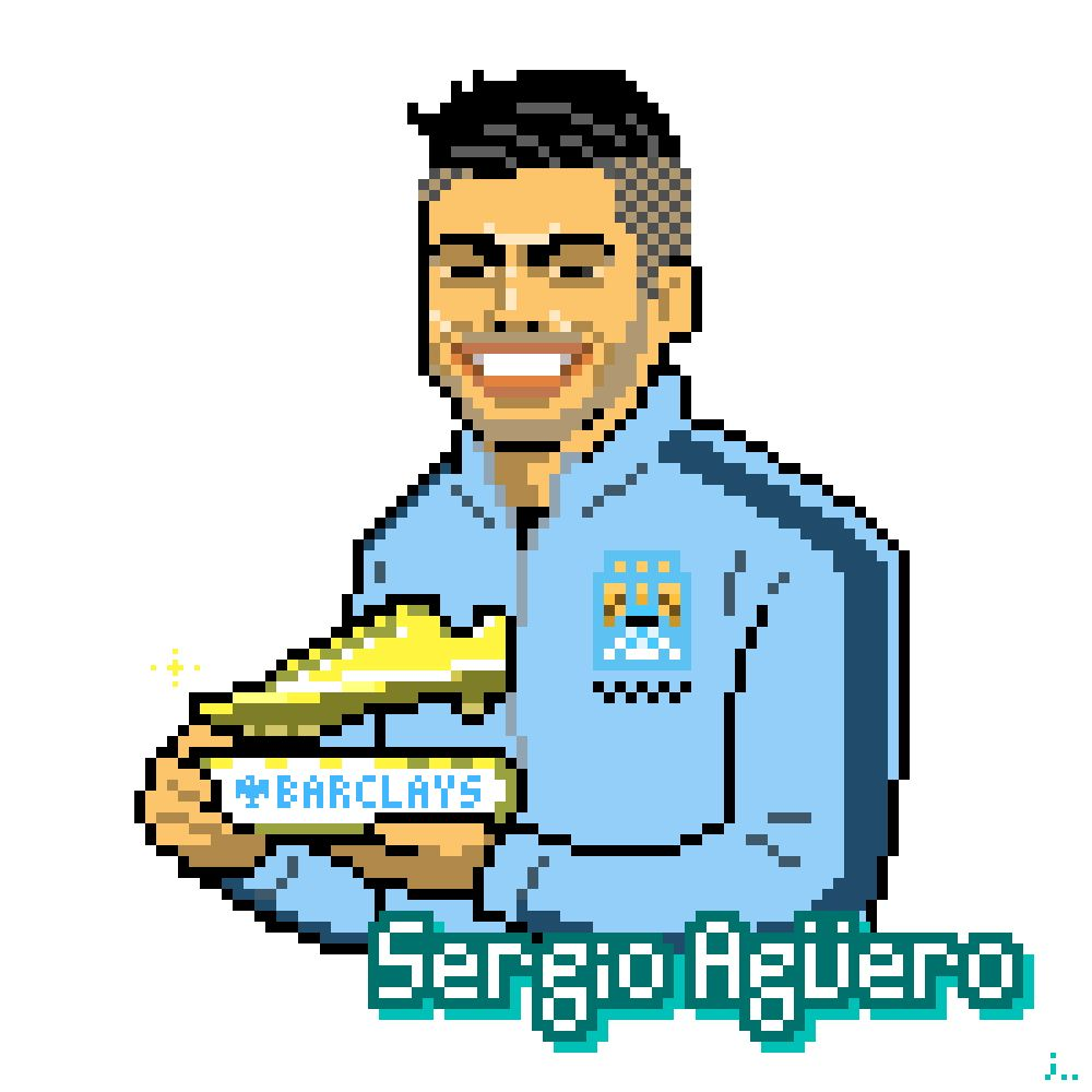 Pixel Art Manchester City