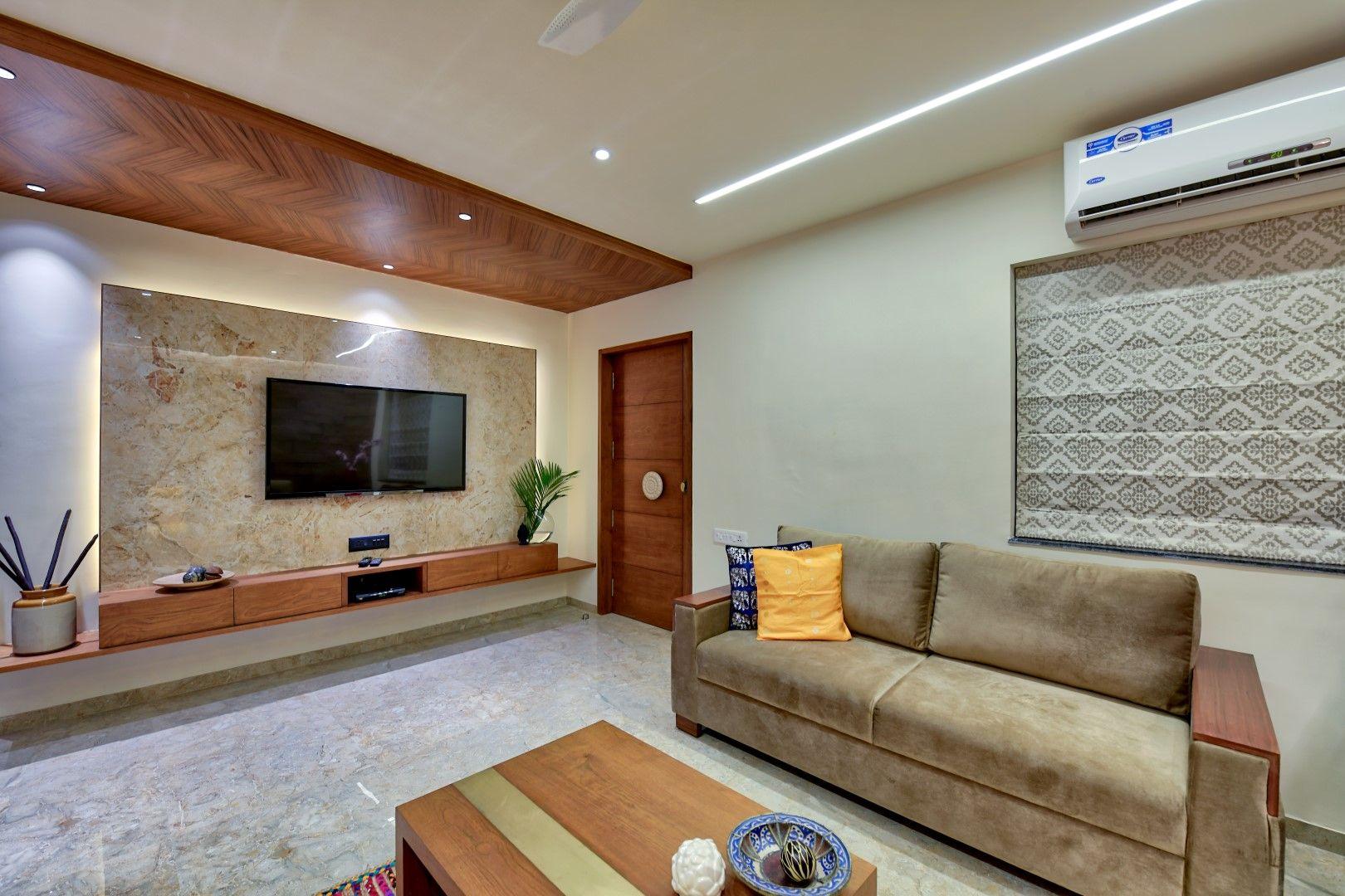 Bungalow Interior Design Bungalow Interiors Living Room Tv Unit Designs House Design