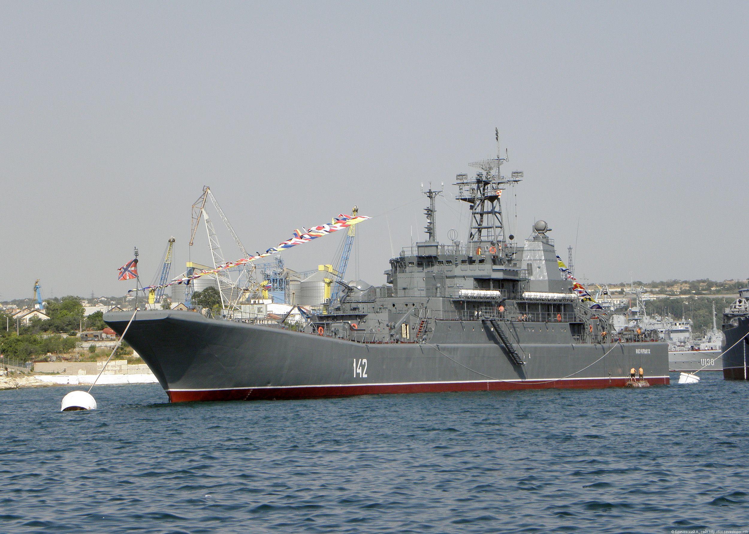 Novocherkassk RopuchaI class Large Landing Ship Russia