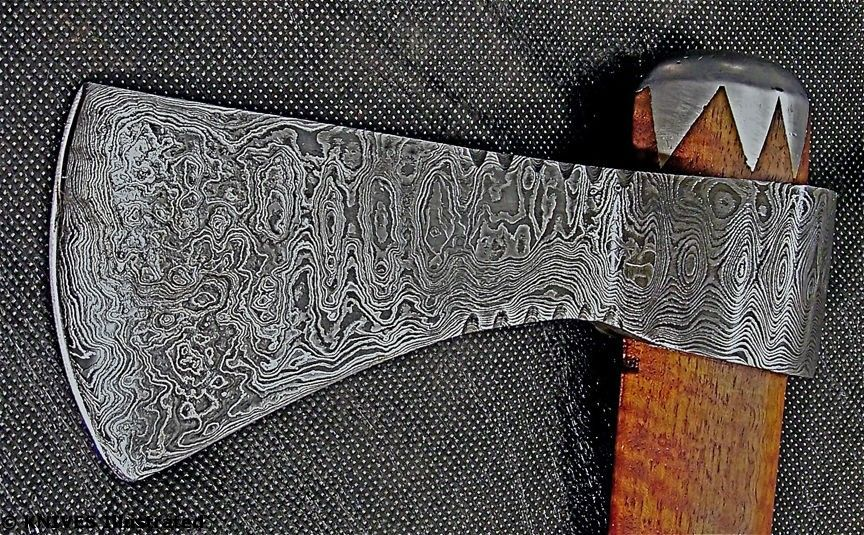 how to make damascus steel knives
