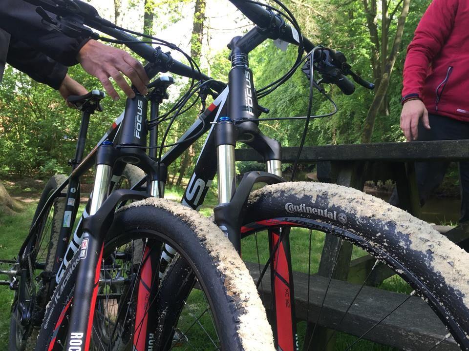 Op pad met de mountainbikes van Actief Twente