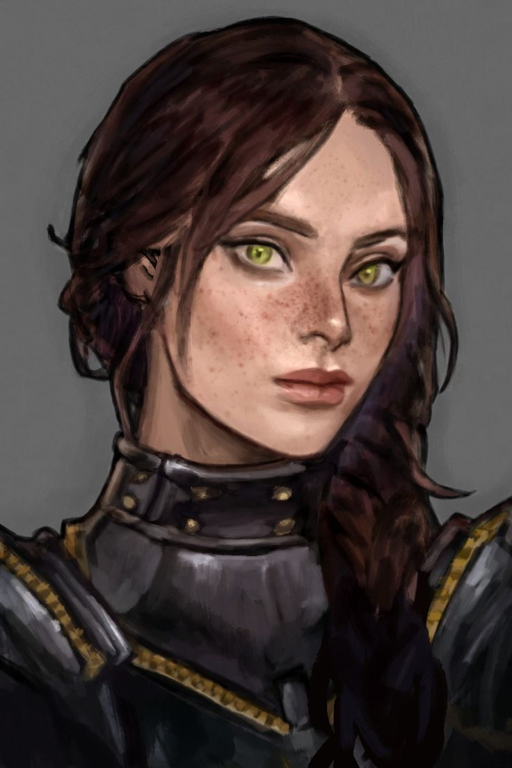 Photo of Could be Athena (eyes too olive green, skin pink-white)